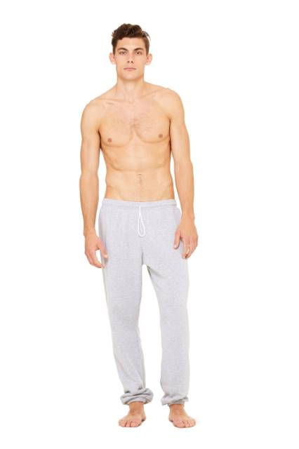 Fleece Sweatpants - Light Grey