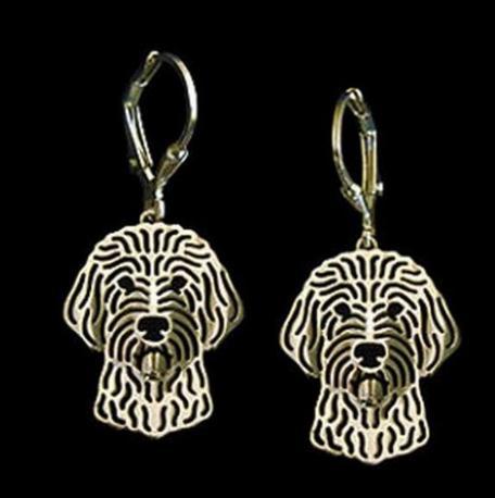 Gold Doodle Earrings | HeyDood.life
