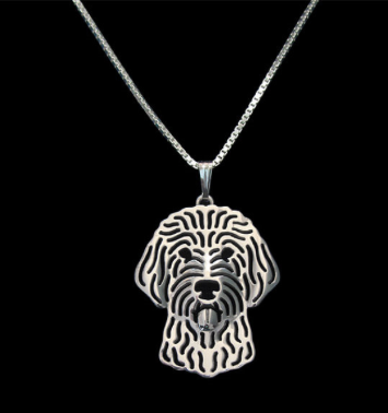 Silver Doodle Pendant | HeyDood.life